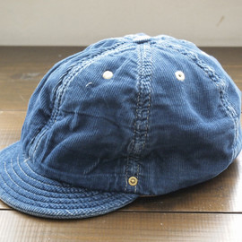 "DECHO - BALL CAP -WORLD WORKERS-""DEEP INDIGO"""