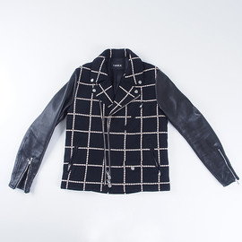 Taakk - Embroidery Check Riders Black