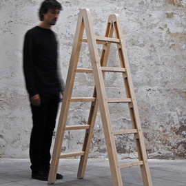 Company & Company - An Ingenious Foldable Ladder: The Corner Ladder