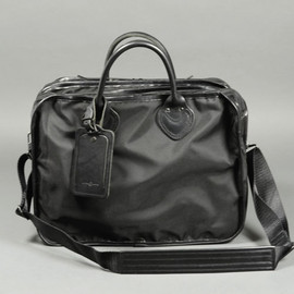 ARTS&CRAFTS - BLACK NYLON / 3R BRIEFCASE