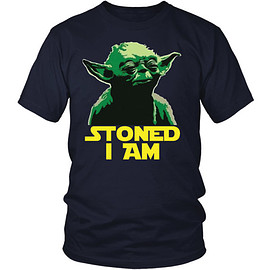 star wars - Stoned Yoda Tee