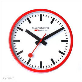 MONDAINE - Wall Clock