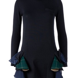 sacai - Ruffle Detail Dress