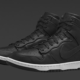 Nike - NikeLab Dunk Lux High - Black
