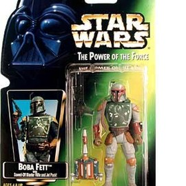 kenner - STAR WARS The Power of the Force Boba Fett