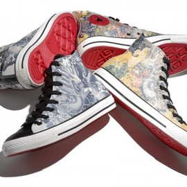 converse - All Star All Over Tattoo Dragon Print