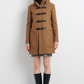 muller of yoshiokubo - 2011A/W ファー付ダッフルコート COAT