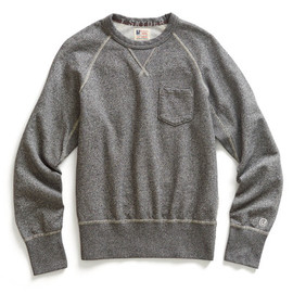 Todd Snyder - Salt & Pepper Pocket Sweatshirt