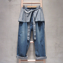 SASQUATCHfabrix. - fisherman's painter denim pants