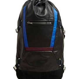 master-piece - Tim Coppens x Master-Piece Men's Leather Backpack