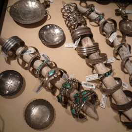 NAVAJO Indian Silver Jewelry
