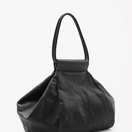 COS - Folded leather shopper