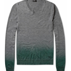 Jil Sander - Degradé Silk and Cashmere-Blend Sweater