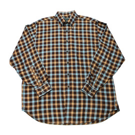 Brooks Brothers - Vintage Brooks Brothers Country Club Plaid Button Down Shirt Mens Size XL