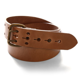 Whitehouse Cox - B1242 VINTAGE BRIDLE LEATHER DOUBLE PIN BELT