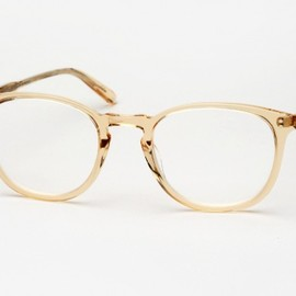 Garrett Leight California Optical - Kinney Eyeglasses - Champagne