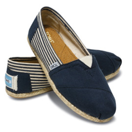 TOMS - University Navy Women's Classics