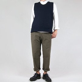 ordinary fits - ordinary fits FRENCH CROPPED HEATHER OLIVE