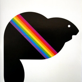 "Montreal Olympic - ""Amik"" Poster Designed by Yvon Laroche & Pierre-Yves Pelletier, 1976"