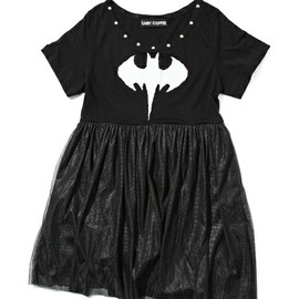 Candy stripper - BATMAN TULLE ONE-PIECE