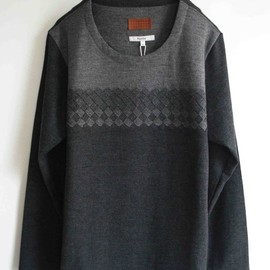 Bicester - Woven Front Crew Neck