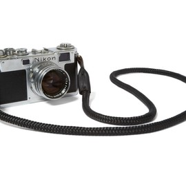 Kill Spencer - Bridle Leather + Paracode Camera Strap - Black