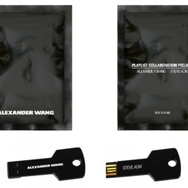 ALEXANDER WANG - Object Collection x Japanese DJ PLAYLIST CUSTOMIZED USB COLLABORATION WITH STEVE AOKI