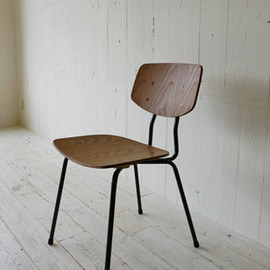 TRUCK FURNITURE - SUTTO DINING CHAIR / WOOD SEAT