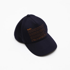 kolor - kolor 10th Anniversary Wool Flannel Cap