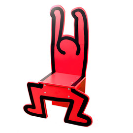 VILAC, KEITH HARING - VILAC×KEITH HARING / KIDS CHAIR / RED