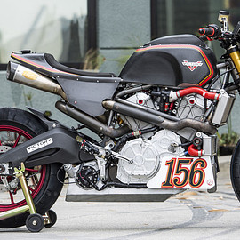 Roland Sands Design (RSD) - RACE TO THE CLOUDS- PROJECT 156