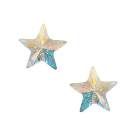 Orelia Facet - Star Stud Earrings