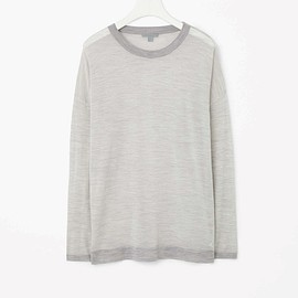 COS - Fine-knit striped top