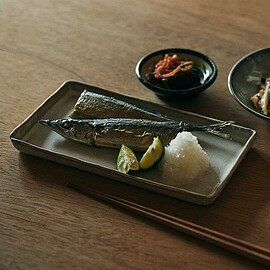 TODAY'S SPECIAL - FLAT PLATE 長角 斑白 / 向山窯×TODAY'S SPECIAL