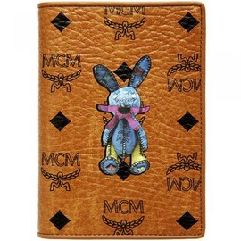 MCM - MCM Rabbit passport case - COGNAC