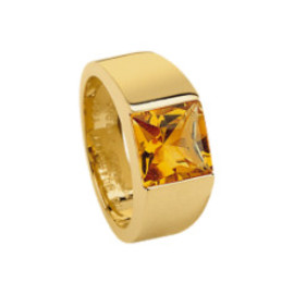 Cartier - Tank ring Citrine