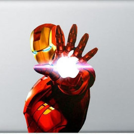 Iron Man Macbook Decal Vinyl Sticker Skin for Apple MacBook Pro Air 11 13 15 17 / ipad