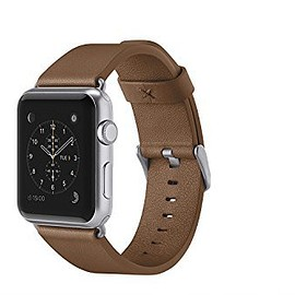 Belkin - Classic Leather Band for Apple Watch
