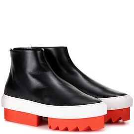 GIVENCHY - Platform leather sneakers