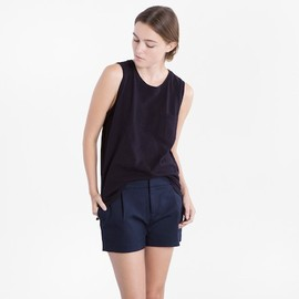 Everlane - The Muscle Tank in Black by Langley Fox