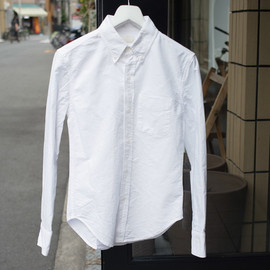 Band of Outsiders - B.D. SHIRT OXFORD WHITE