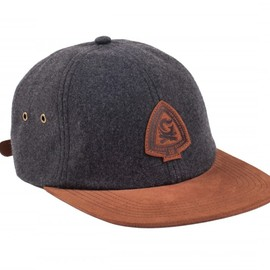 Benny Gold - CAMPFIRE SPECKLED BLACK WOOL POLO HAT