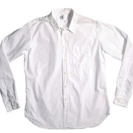 MARGARET HOWELL - MHL slim work shirt white