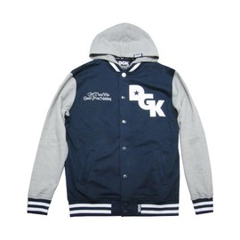 DGK - STAGGER VARSITY FLEECE (Navy)