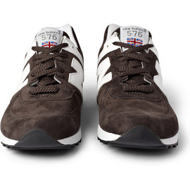 New Balance - 576 Suede Running Sneakers
