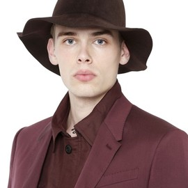 BURBERRY PRORSUM - 2015 S/S FELTED RABBIT HAT
