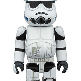 MEDICOM TOY - BE@RBRICK STORMTROOPER(TM) CHROME Ver.100%