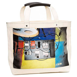 Tommy Hilfiger, Ari Marcopoulos, Whitney Museum - 2010 Biennial Tote Bag