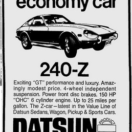 Nissan was Datsun this 240Z