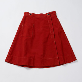 MHL. - LIGHT MOLESKIN SKIRT
